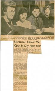 Montessori School of Waukesha in 1964 by The Waukesha Freeman