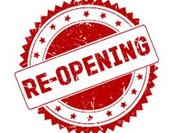 MSOW Re-opening Plan