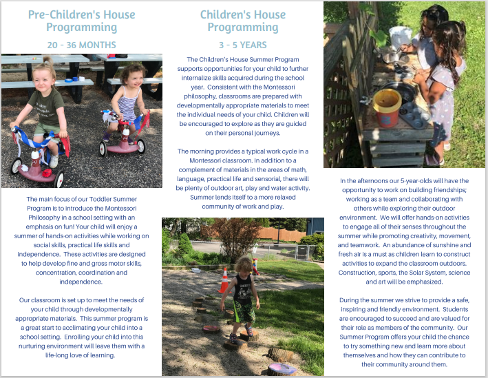 MSOW 2021 Summer Programs Brochure Page 2